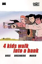 4 KIDS WALK INTO A BANK #1 GHOST VARIANT Wes Anderson's Bottle Rocket