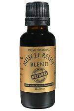 Muscle Relief Essential Oil Blend 30ml / 1oz Comparable to Doterra Deep Blue