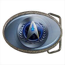 NEW* HOT STAR TREK BADGE Quality Chrome Belt Buckle Gift