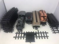 VTG Used New Bright TRAIN TRACK SET COMPLETE G Scale Pioneer 999 Battery Powered