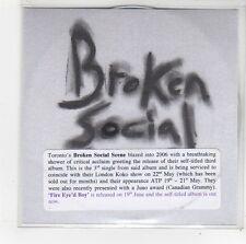 (FO212) Broken Social Scene, Fire Eyed Boy - 2006 DJ CD