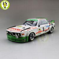 1/18 Minichamps BMW 3.0 CSL WINNER 24HR SPA 1976 #5 Diecast Car Model Toys gifts
