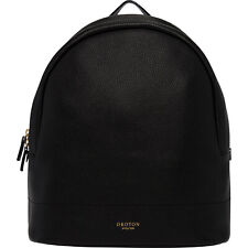 Black color large size New Oroton full Leather Avalon Backpack Hand Bag BNWT