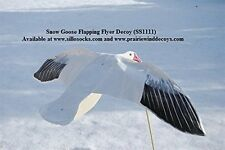NEW Sillosocks Flapping Snow Goose Decoy White FREE SHIPPING