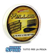 FILO TUBERTINI YELLOW 0,16 mm - 100 mt