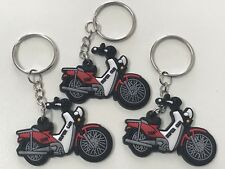 3x Key Rings To Suit Postie Bike Honda Nbc 110 Super Cub Enthusiast