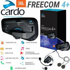 CARDO Headset FREECOM 4+ PLUS Einzel Bike-to-Bike 4-Wege Intercom 1,2 km Radio