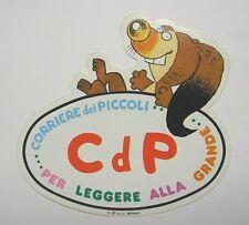 VECCHIO ADESIVO / Old Sticker I RONFI corriere dei piccoli CDP (cm 15 x 15)