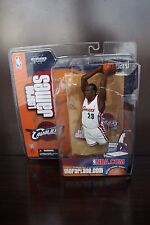 LEBRON JAMES 1st Edition Figure McFarlane 2003 NBA Sportspicks SERIES 5 WHITE