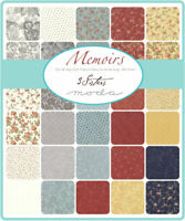 "Memoirs Layer Cake by 3 Sisters for Moda 10"" Squares Layer Cake 44210LC"