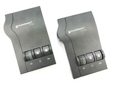PLANTRONICS Phone Headset Amplifier Audio Processor Vista M12 Lot of 2 $45