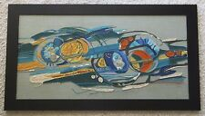 FUNK ART MASTERPIECE 1970'S FABRIC COLLAGE ABSTRACT EXPRESSIONIST VINTAGE POP
