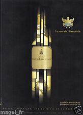 Publicité 2013 - Château Bastor - Lamontagne - Sauternes