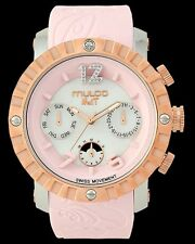 Mulco Unisex MW5-1876-813 Fashion Analog Swiss Movement Silicone Band Watch