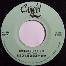 LAS CHICAS DE NUEVA YORK: NAVIDADES EN N.Y. latin SALSA 45 on CAIMAN super HEAR