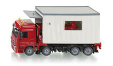 Siku Super 3544 1:50 Mercedes-Actros Portacabin Garage Transporter Truck Model