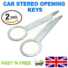 2x Car SUV Parts Radio Stereo Removal Release Tool Keys Accessories Practical