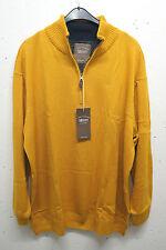 Herren-Pullover & -Mittel aus Baumwolle mit Unifarben und Reißverschluss