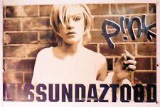 "PINK - MISSUNDAZTOOD  VINTAGE POSTER - 22.25"" X 33"" NOS (b108)"