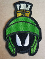 Marvin The Martian Face Logo embroidered Patch 4 3/4  inches tall