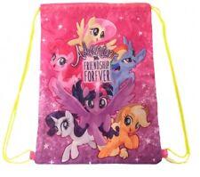 My Little Pony Gym Bag Swim PE School Girl String Gift Breakfree Strap Pink MLP