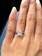 GIA Certified Diamond Engagement Solitaire Ring 1.00 Carat Princess Cut 14k Gold