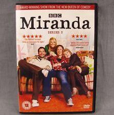 Miranda Series 2 PAL DVD BBC TV Show Patricia Hodge Tom Conti Sarah Hadland UK