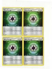 Pokemon -  WARP Energy 70/79 - Shining Legends - Special Energy 4 Card LOT -NM/M