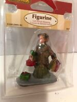 Lemax Village Christmas Figurine Last Minute Shopping Fancy Lady Woman Gift New