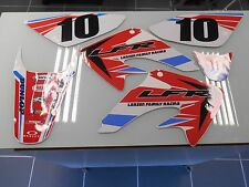 CRF50 CRF 50 FENDER SIDE PANELS RADIATOR SHROUDS CUSTOM GRAPHICS DECALS