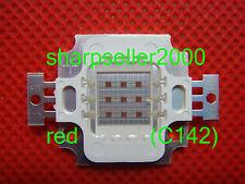 100p 10W Red LED High Power 600LM Lamp Prolight Star Led Light Bulb 6 Watt