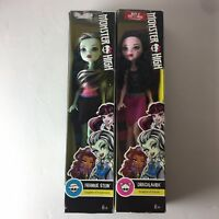 LOT OF 2 Monster High Dolls Draculaura and Frankie Stein Mattel