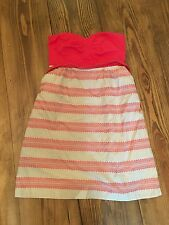 Maeve Anthropologie Strapless Dress- Size 8- VGUC! Buy It Now