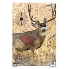 "Pregame Mule Deer Splattering Targets w/Vitals, Full Color 16.5"" x 24"""