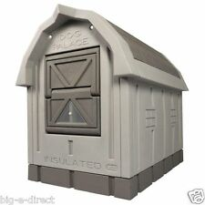 ASL Solutions Plastic Insulated Medium - Large Dog House Palace Raised Floor Bed