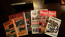 Lot of 7 Racing Books - F1, LeMans, Nascar, Can-am, Indy, etc