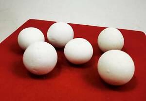 6X Pcs  WHITE LEKLAI PEARL Relic Top Magic ARAHANT STONE AMULET Healing Natural