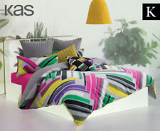Striped KAS with Three-Piece Items in Set Quilt Covers