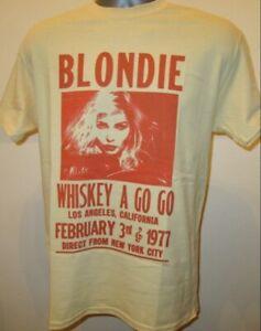 Blondie Whiskey Poster T Shirt Music Retro 70s Festival Debbie Harry Summer V124