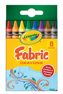 Crayola Fabric Crayons - 8 pack