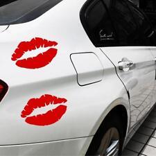 Kiss Mark Skull Lip Car Decal Sticker Girl Lipstick Window Bumper