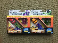 TRANSFORMERS BOT SHOTS SKYQUAKE SHOCKWAVE BUMBLEBEE CLIFFJUMPER DIRT BOSS CHASE