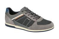 Geox Schuhe RENAN grau Herrenschuhe Sneakers U824GB 02011 C1006 NEU