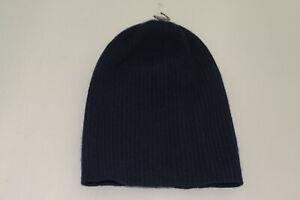 $95 NWOT Portolano Women's 100% Cashmere Beanie Hat One Size .