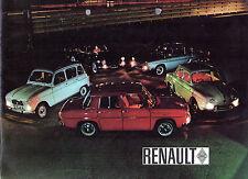 RENAULT 1964 Regno Unito delle vendite sul mercato opuscolo Dauphine R4 R8 CARAVELLE