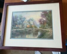Thomas Kinkade - Beautifully Framed Picture - No details - See Picture