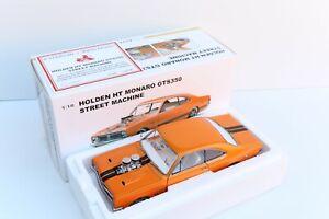 AUTOART 1:18 MODEL CAR HOLDEN HT MONARO GTS350 STREET MACHINE, METALLIC ORANGE