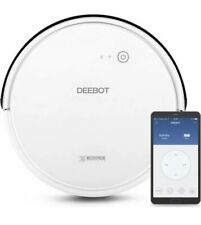 NEW - Robotic vacuum cleaner Ecovacs Deebot D600 Carpet Power Cleaner & acc