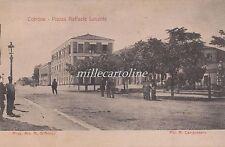 COTRONE/CROTONE Piazza Raffaele Lucente 1909 - fot. A. Campossano
