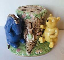 Disney Pooh Eeyore and Piglet Ceramic Toothbrush Holder